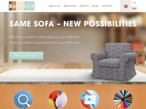 Soferia - store with the best sofa covers